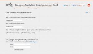 Raven Tool ConFiG Universal Analytics