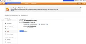 Google Subdomain Filtering